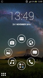 Smart Launcher 2 for Android makes your home screen look all nice and minimal