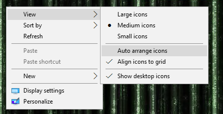 how to stop windows 10 from rearranging your desktop icons